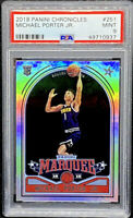 Michael Porter Jr 2018-19 Panini Chronicles Marquee Rookie RC #251 MINT PSA 9