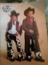Kids cowboy costume halloween showgirl