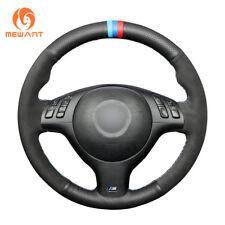 Design Leather Suede Steering Wheel Cover for BMW E36 E36/5 E46/5 5 Series M3 M5