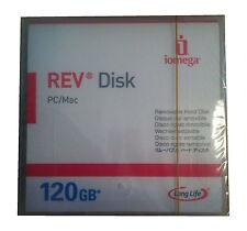 Iomega rev 120gb Disk/support de stockage NEUF #55