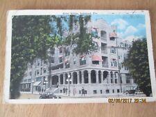 OLD POST CARD - HOTEL KIBLER, LAKELAND,  FLORIDA. POSTMARKED 1918  EXC. COND.