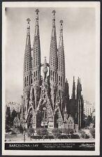 AX4199 Spain - Barcelona - Sagrada Familia - Cartolina postale - Postcard