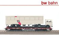 Liliput H0 L220011-2 Niederflurwagen + MB LP 1620 Lkw, Rollendes Stellwerk, RoLa