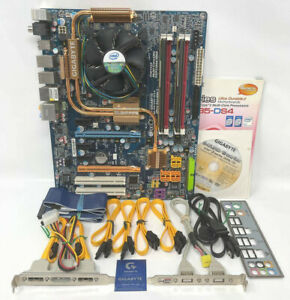 Gigabyte GA-P35-DS4 Motherboard Core 2 Duo E8500 3Ghz CPU + 4GB DDR2 RAM Bundle