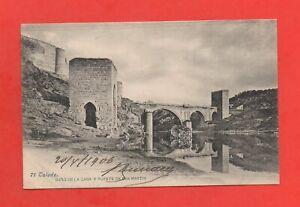 Espagne - TOLEDO - Bano de la casa y puente de San Martin  (K4280)