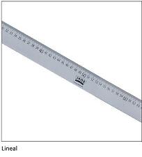 Schneiderlineal langes Lineal 1 Meter lang 100cm aus Alu Leichtmetall von JKOS