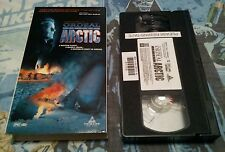 Ordeal In The Arctic Rare VHS! 1992 Arctic Survival! Richard Chamberlain