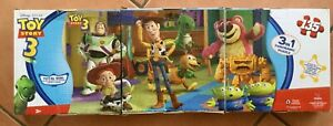 Toy Story 3, 3-in-1 Panoramic Jigsaw Puzzle Set