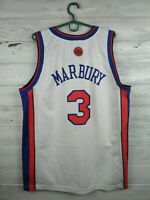 Marbury  New York Knicks jersey Large shirt basketball Champion
