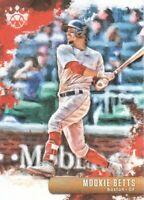 2019 Diamond Kings Baseball #95 Mookie Betts Boston Red Sox