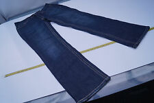 CAMBIO Jeans Norah Straight Damen Hose stretch Gr.40 stone wash darkblue used l.