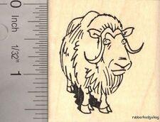 Muskox (Musk Ox) Rubber Stamp E13503 WM