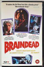 BRAINDEAD  BIG BOX  - REVERSIBLE SLEEVE    (PAL / VHS)