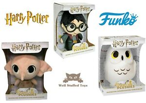 Funko Super Cute Plushies Harry Potter, Hedwig, Dobby Gift Boxed Plush Toy
