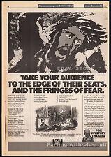 HAMMER HOUSE OF HORROR__Original 1985 Trade AD / poster__TV promo__PETER GRAVES