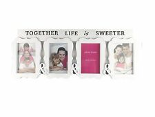 4 Images Multi Photo Frame Set Artwork Picture Display Wall hanging Decor Gift