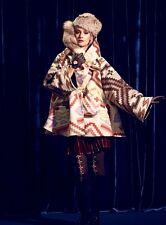Lindsey Thornburg Wool Cloak Poncho Cape Coat Jacket Women's Pendleton