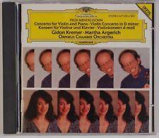 MENDELSSOHN: Concerto Violin & Piano, Kremer / Argerich DGG WG FS CD NM