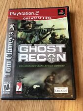 Tom Clancy's Ghost Recon Squad Based Battlefield Combat PS2 Cib Game H2
