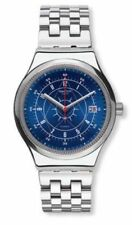 Swatch Stainless Steel Case Plastic Strap Wristwatches
