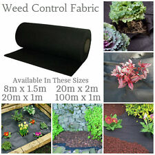Weed Control Fabric Membrane Driveway Ground Cover Sheet Garden Landscape Fabric