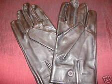 British Army Officers WO Royal Irish Regiment RIR, Black leather Gloves New