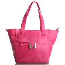 Rose Red Italian Leather Handbag, Purse Hobo Bag, Satchel, Tote, Clutch