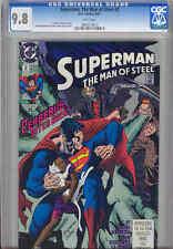 Superman, Man of Steel #2  CGC 9.8 1991 DC Comic with Cerebrus: Price Drop!