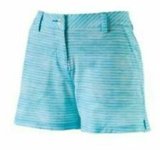 PUMA Women Printed 5in Golf Shorts Blue Atoll 12