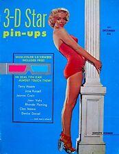 Marilyn Monroe Magazine 1953 3D Star Pinups Debut Issue V1N1 3D Viewer EX VTG
