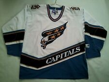 VINTAGE STARTER NHL WASHINGTON CAPITALS  HOCKEY JERSEY IN SIZE XL