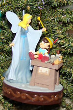 A Real Boy Ornament, Pinocchio (Walt Disney by Hallmark, QXD6243) Animated
