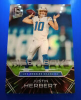 2020 Panini Spectra Justin Herbert Rise Above RC SSP #/75 Los Angeles Chargers🔥