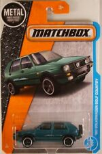 MATCHBOX #4 '90 VW Golf Country 'Montana Green' w/5-spoke wheels - NEW CARD ART