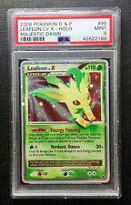 Pokemon PSA 9 Leafeon Lv. X Holo D&P Majestic Dawn #99/100 Mint