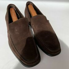 To Boot New York Adam Derrick Mens 8.5 Brown Suede Slip On Loafer Shoes