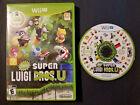 New Super Luigi U - Nintendo Wii U, 2013 CIB Tested