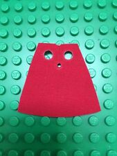 1 custom made to fit  lego Minifig Cape Red Superman Batman Imperial Guard
