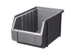 Sonderangebot 100 Stapelboxen GRAU Gr.3 Schraubenboxen 23x 15x 12,5 cm NEU 1A