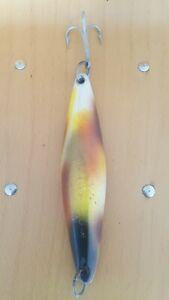 "VINTAGE TADY BCT MIX COLORS 10"" 9.5 OZ IRON SURFACE YOYO-TROLLING FISHING JIG"