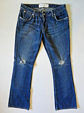 PAPER Denim and Cloth {Size 29 in} MADE IN USA Distressed Bootcut NICE!