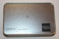"""American Express Tin Metal Gift Card Holder Gift A Gift 5 1/8"""" x 3 3/8"""" x 3/4"""""""