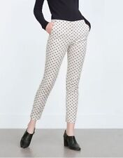 Zara Elastane Trousers for Women