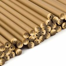 Gold Plastic Lollipop Sticks 150mm x 4.5mm - x 50 Cakepop Craft Novelty