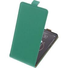 étui pour Archos Diamant ALPHA SMARTPHONE à Clapet COQUE HOUSSE FLIP CASE Vert