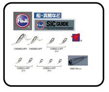 1set Fuji SIC CDBSG8101N Fishing Rod Guides Set CNST Tip Japan Choose Model