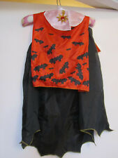 Halloween Boys Vampire Cape & Mask Costume - 3 - 4 years