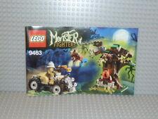 LEGO® Monster Fighters Bauanleitung 9463 The Werewolf polybag instruction B1944