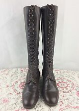 Bottes Heyraud pointure 38 en cuir marron  made in Italie