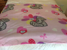 ME TO YOU PINK FLEECE BLANKET- TATTY TEDDY BEAR FLEECE 120 X 150 CMS